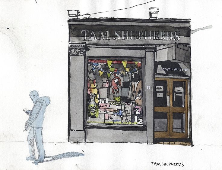 https://flic.kr/p/zoTzKG | Tam Shepherds | The best and oldest tricks/costume shop in Glasgow, established 1886.
