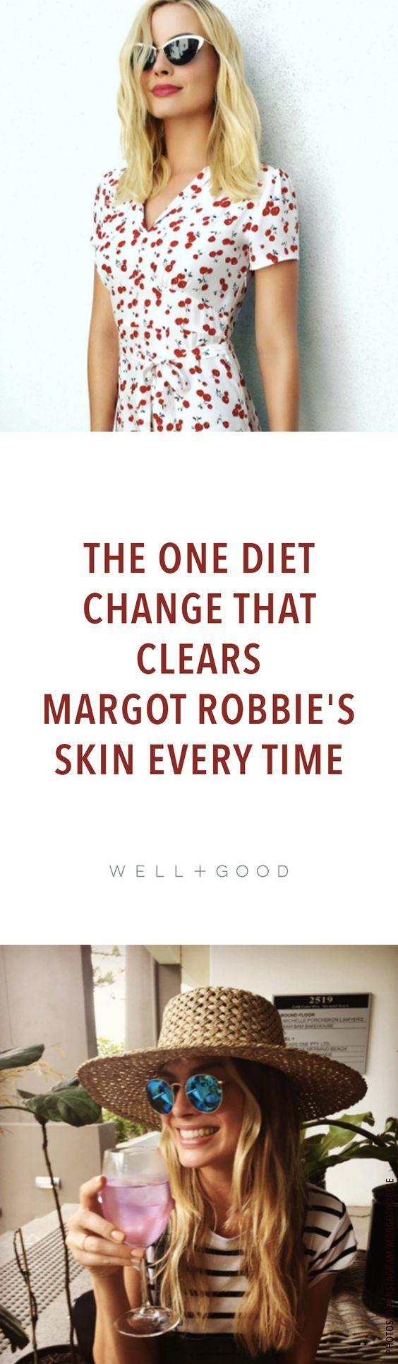 What Margot Robbie eats
