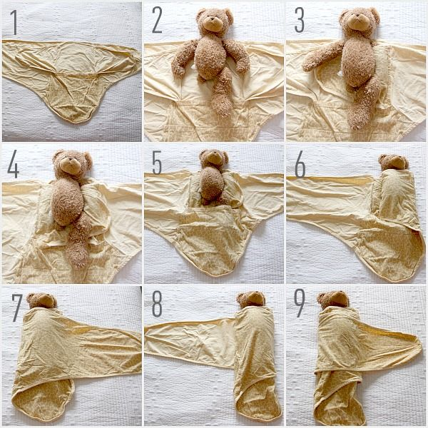 This is great!! A miracle blanket! This is the Swaddle instructions for it.