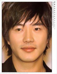 Kwon Sang-woo, Korean actor...love that hairstyle
