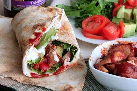 Tandoori Chicken Wraps (from Create with mom)