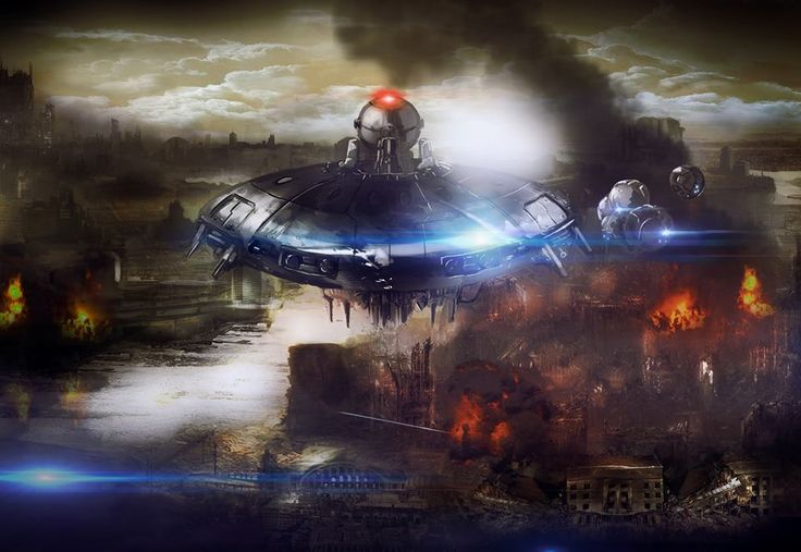 """#surfacerunners : """"Prologue"""" - a dark illustration of what happened when mankind was forced underground and machines took over the surface."""