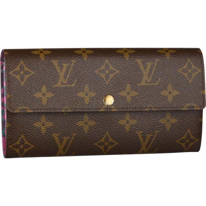 Louis Vuitton Handbags #Louis #Vuitton #Handbags - Sarah Wallet Leopard - $164.99