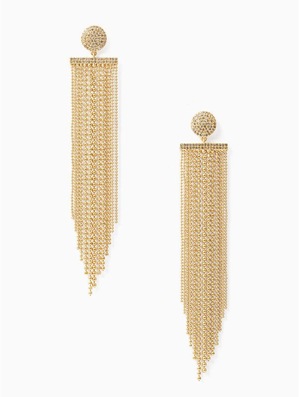 927afaf8f Kate Spade glimmer shimmer statement earrings in 2019 | Jewelry and  Accessories | Statement Earrings, Earrings, Gold Jewelry