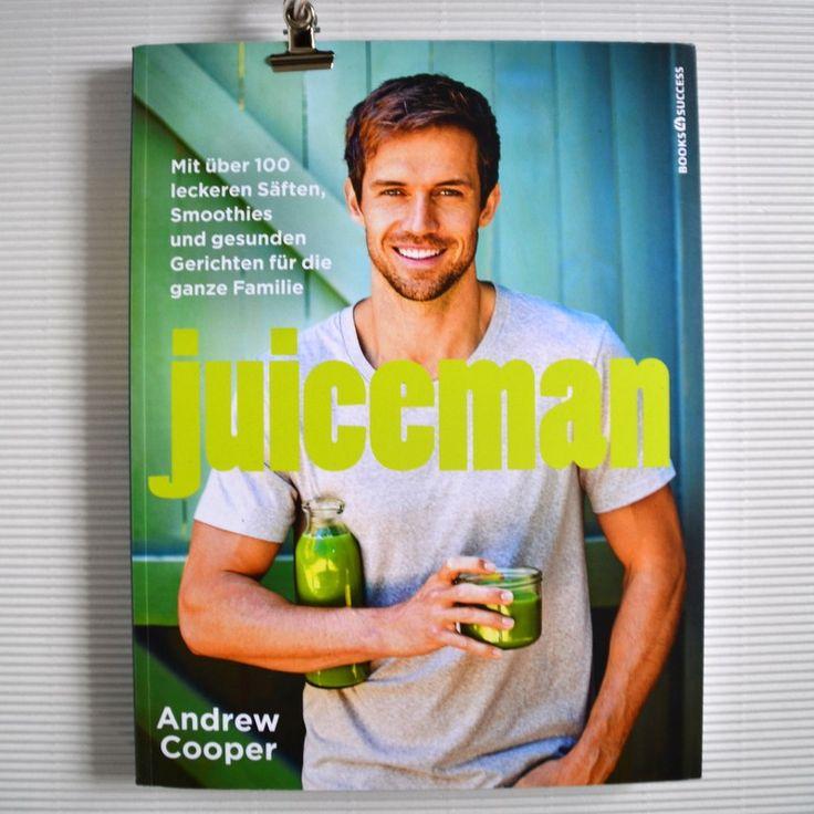 Gewinne jetzt am Blog mit einem Kommentar ein Exemplar von JUICEMAN von Andrew Cooper.
