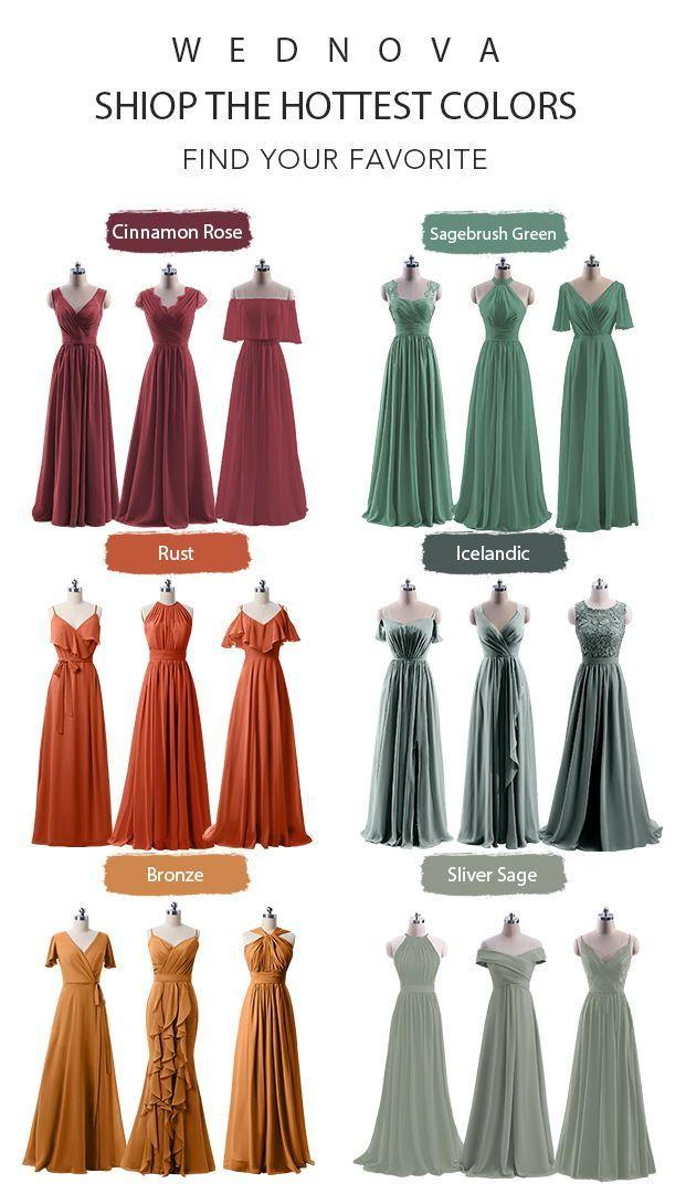 Shop Cheap Bridesmaid Dresses Under 100 Online At Wednova Com Cheap Bridesmaid Dre In 2020 Rust Bridesmaid Dress Ball Gown Wedding Dress Bridesmaid Dresses Under 100