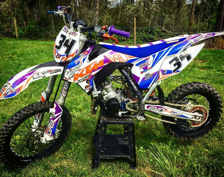 KTM 85 mx graphics  #ChaosGraphics #LifeOfChaos ☆GET NOTICED! Get Chaos!  -www.ChaosMxGraphics.com  -Call or text 253-888-3330