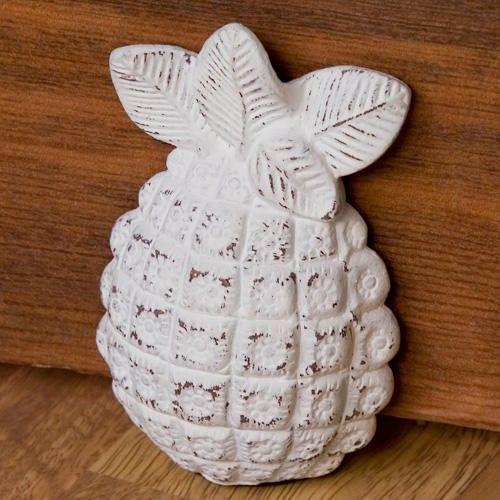 Cast Iron Pineapple Wedge Doorstop - Hardware