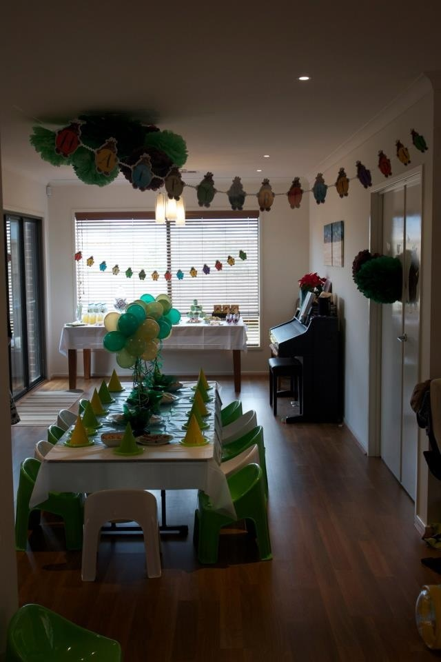#gruffalo party moved inside due to wind in the deep dark wood!