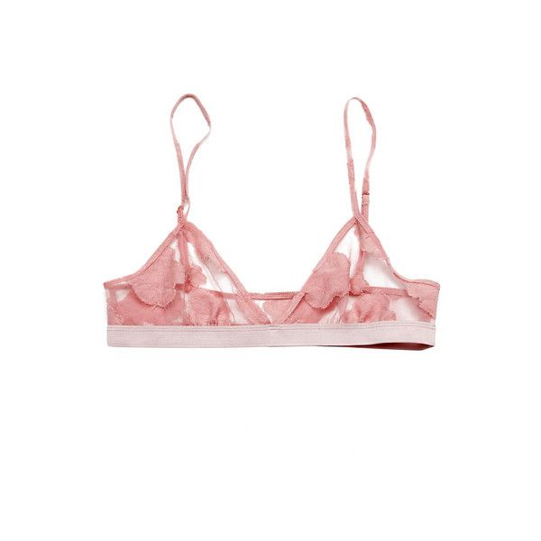 Charlotte Ronson Lingerie Pink Lace Bra - StyleCaster ❤ liked on Polyvore featuring intimates, bras, lingerie, underwear, tops, pink lingerie, pink bra, lingerie lace bra, lacy bras and lacy lingerie