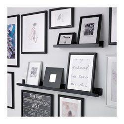 IKEA - MOSSLANDA, Bilderleiste, 115 cm, , Mit einer Bilderleiste lassen sich Lieblingsmotive schnell und einfach austauschen.