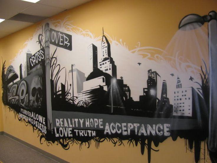 gospel graffiti crew village kids graffiti christian rap on wall street bets logo id=24808