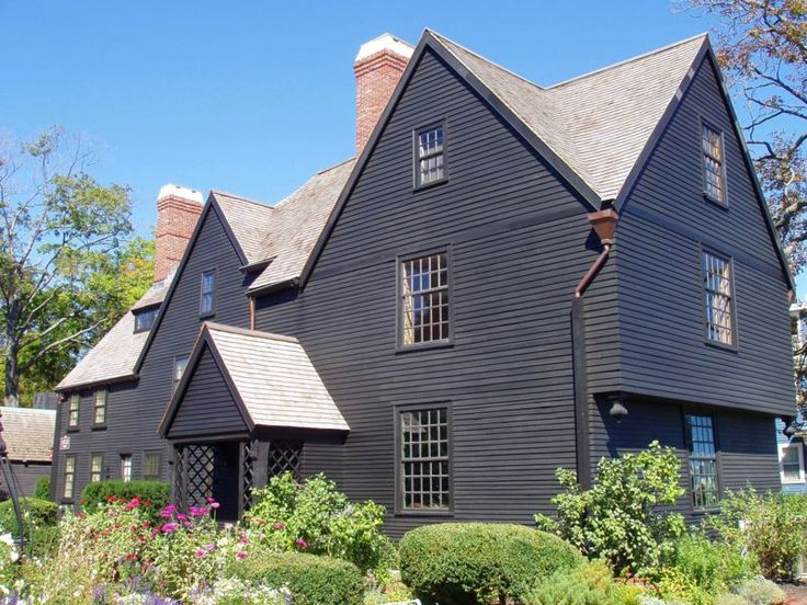 The House Of Seven Gables Also Known As Turner Or Ingersoll Mansion Is A 1668 Colonial In Salem Massachusetts