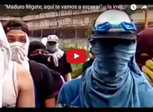 Grupo de jóvenes de Caricuao amenazan de muerte a Nicolás maduro
