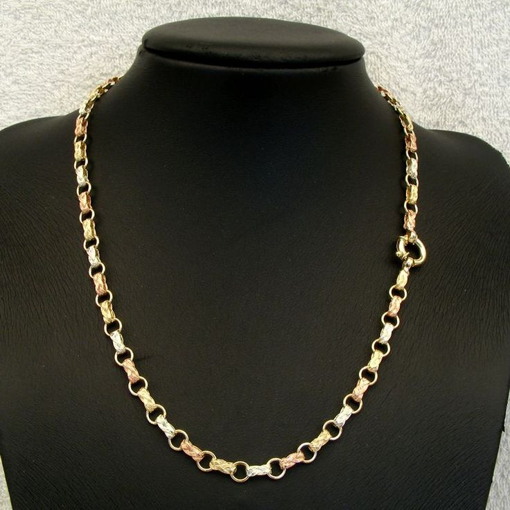 9ct Gold Fancy Gate Chain - - Mildura