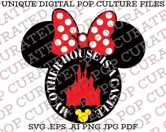 Minnie Mouse Fairytale Castle Disneyland Walt Disney World Etsy Disneyland Minnie Minnie Mouse