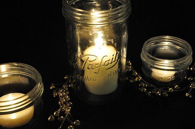 Cute party decoration with #LeParfait #jars