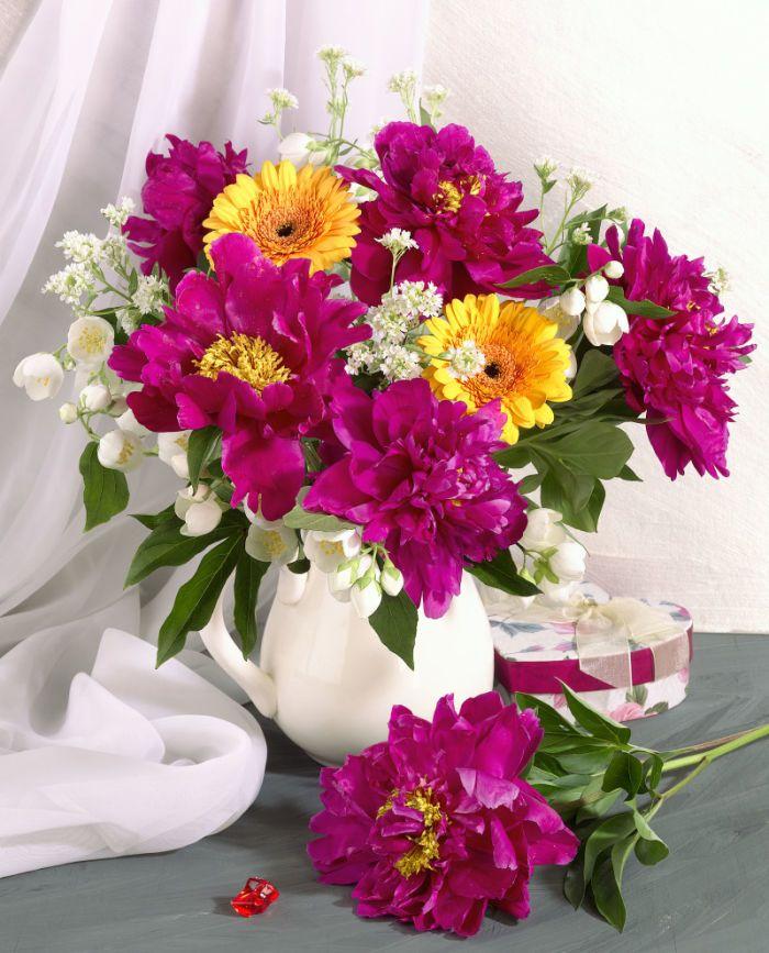 Flowers Vase Cut Flowers Bouquet Flowers Floral