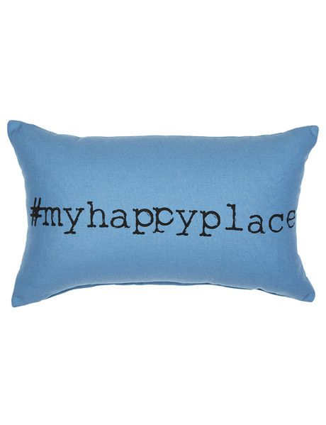 This My Happy Place cushion from the Tilly@home Dune collection will be an on-trend and contemporary addition to your home decor.
