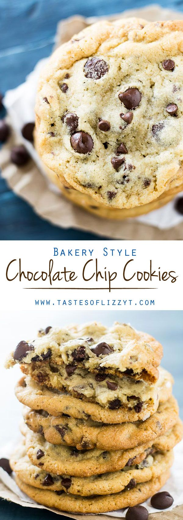 Bakery Style Chocolate Chip Cookies I on MyRecipeMagic.com. The search is over. Introducing the all around best Bakery Style Chocolate Chip Cookie Recipe. Slightly crisp on the outside, soft and chewy on the inside.