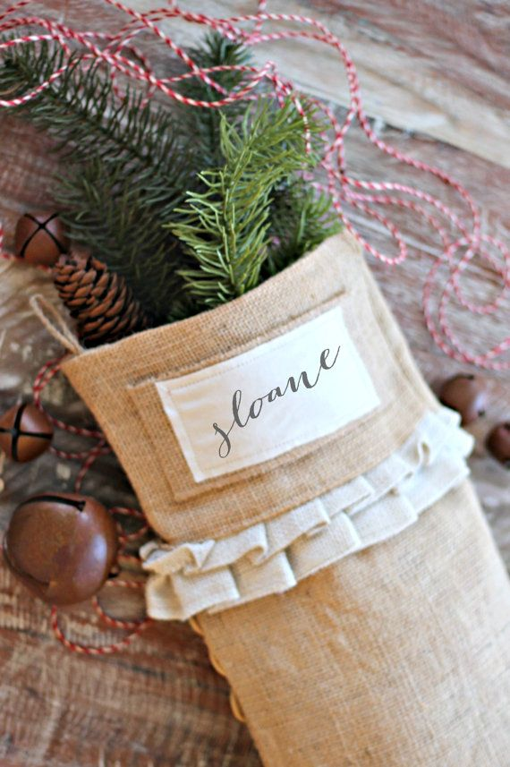 Hey, I found this really awesome Etsy listing at https://www.etsy.com/listing/209228729/burlap-christmas-stockings-christmas