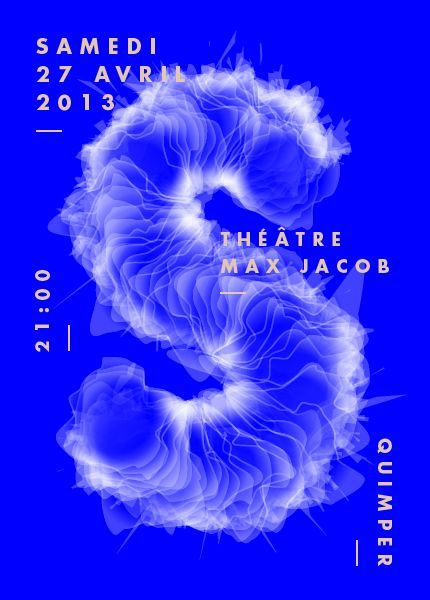 poster-affiche theater-Théâtre Max Jacob (2013) by JoG-Factory (France, Nantes)