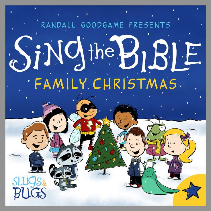 Slugs & Bugs Family Christmas When writing some Scripture songs about the birth of Jesus, I was influenced by the jazz piano music from the Charles Schulz Peanuts Christmas special. That music just feels like Christmas to me! So I wrote in a similar style. The Sing the Bible Christmas CD includes verses like... Unto