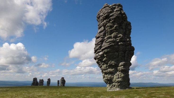 The Manpupuner Rock Formations at Komi Republic, Russia