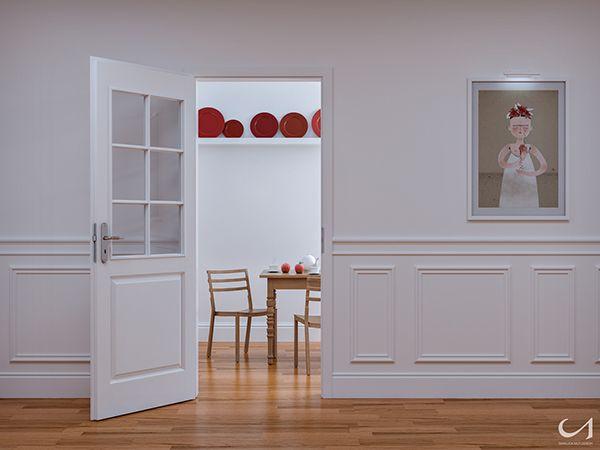 Behind The Door by Gianluca Muti, via Behance