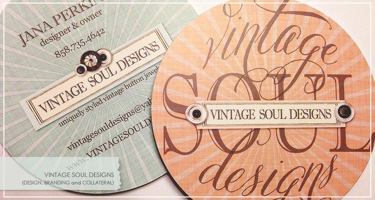 design & branding for: VINTAGE SOUL DESIGNS