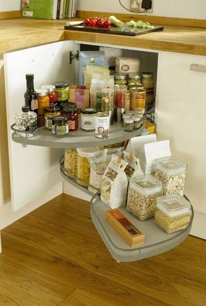 Full Extension Corner Storage Unit 800mm 1000mm Storage Solutions Accessories Kitchen