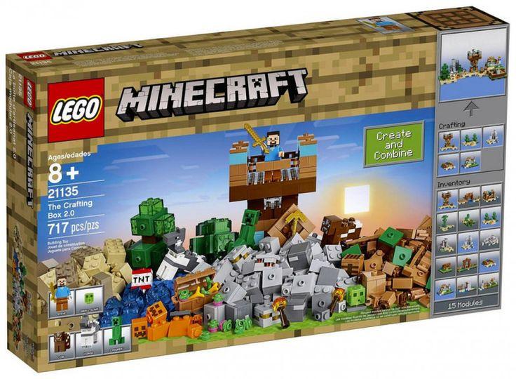 LEGO Minecraft 21135 : The Crafting Box 2.0 - Août 2017