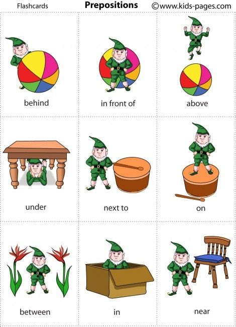 Kids Pages - Elf Prepositions for Christmas time speech-therapy