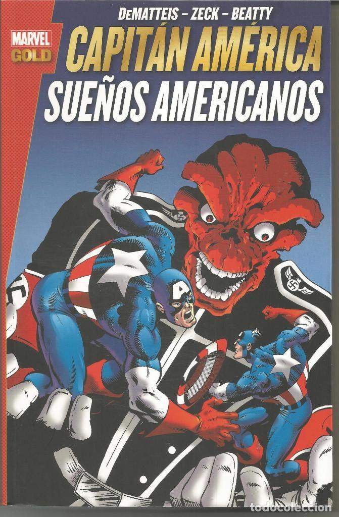 Marvel Gold. Capitán América: Sueños Americanos Panini Cómics