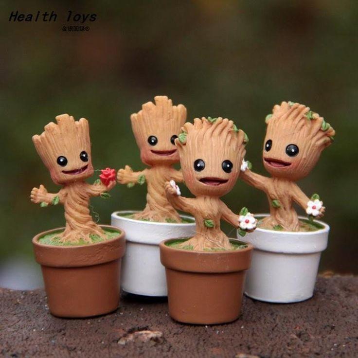 Mini Cute Groot Toy Figure