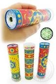 1960's retro toys - Pretty patterns- kaleidoscope