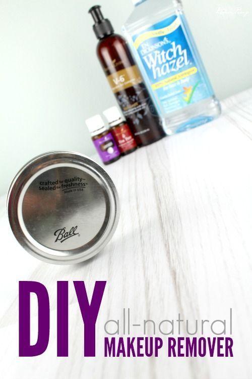 DIY Homemade Makeup Remover