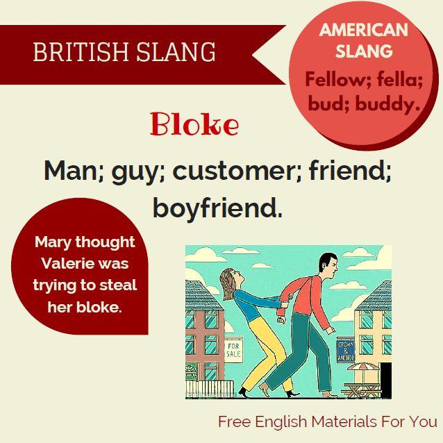 bloke - British slang #bloke #slang