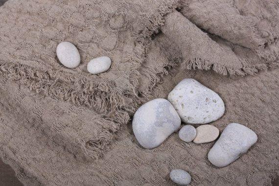 Linen Blanket - Natural linen, Linen Blanket, Bedspread, Picnic blanket, Throw blanket