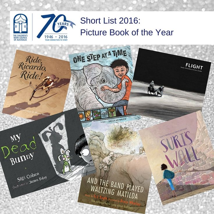 The CBCA announced their 2016 Book of the Year Awards Short Lists at 12noon today! The Book of the Year: Older Readers The Book of the Year: Younger Readers The Book of the Year: Early Childhood The Eve Pownall Information Book of the Year The Picture Book of the Year
