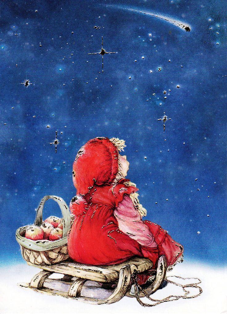 Рождество открытки художника, работу картинки отпуска