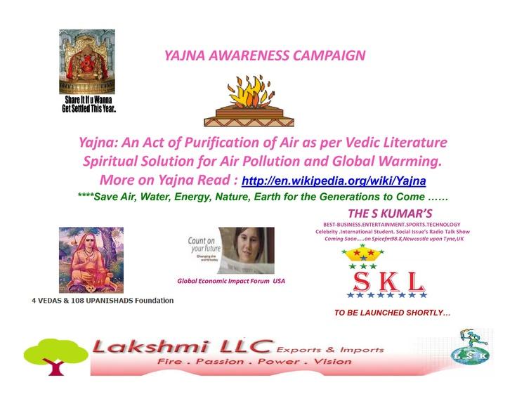 Yajna Awareness Campaign....