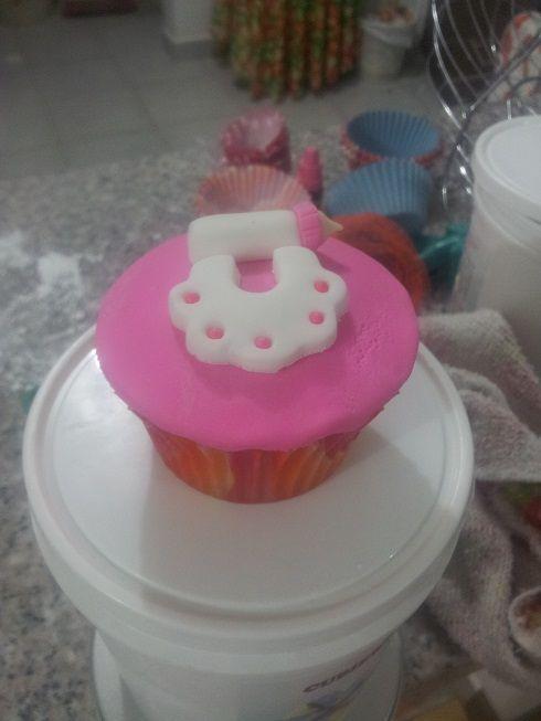 Cupcake Baby Shower Niña...