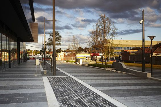City street dandenong australia aspect studios world for Aspect australia