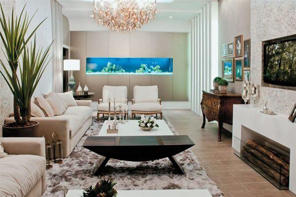 50 Wall Aquarium Design Pictures In 2020 Wall Aquarium Home