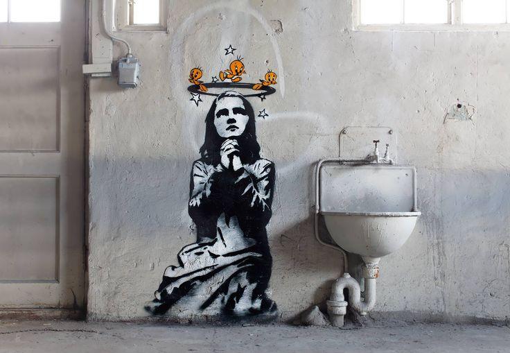 DOLK er en av landets mest kjente gatekunstnere og enkelte ganger forvekslet med verdensstjerne Banksy i London. Foto: Rolf M Aagard.
