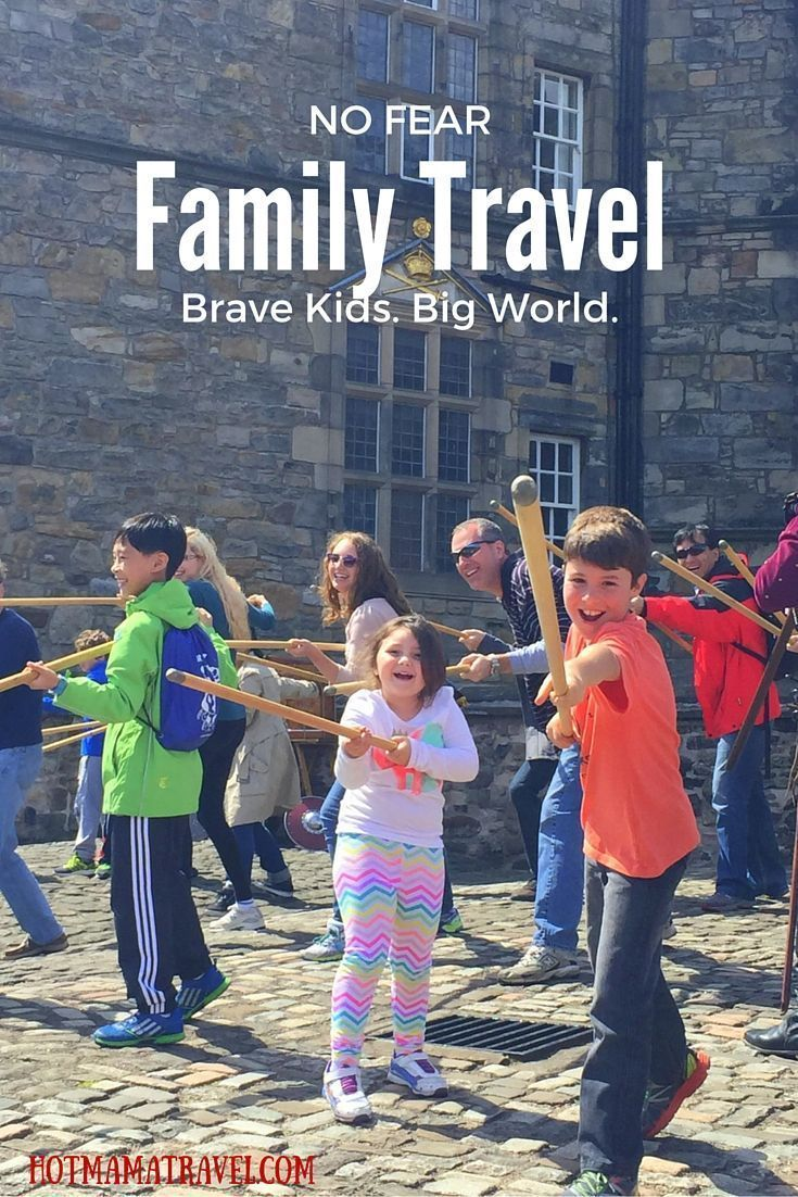 Building confident kids with family travel. #familytravel