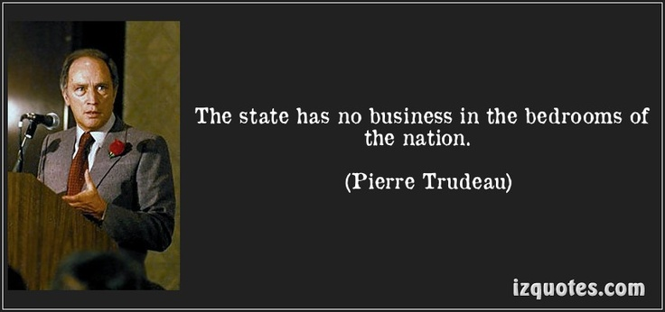 Pierre Trudeau, former prime minister of Canada