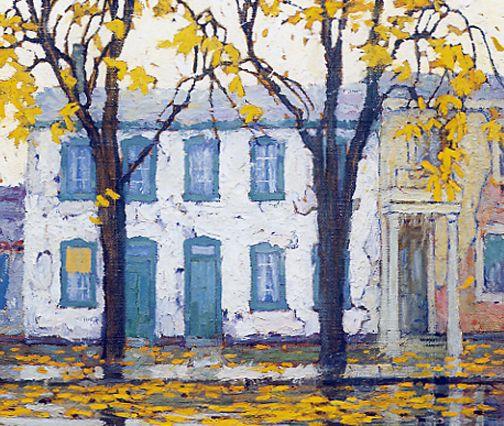 Chestnut Street c.1919 Lawren Harris