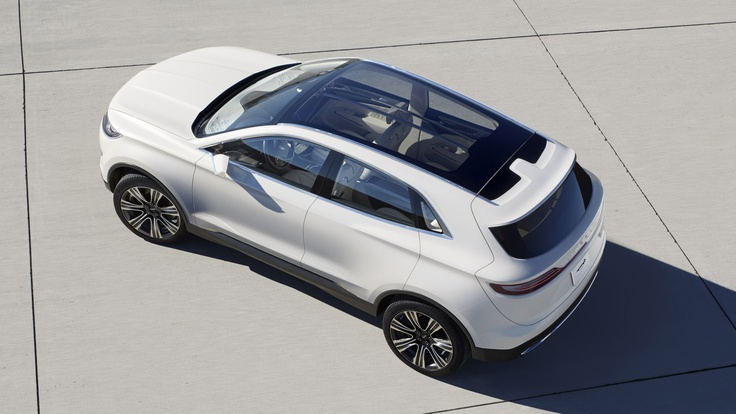Lincoln MKC Concept. Click on the above image for more photos and information. (Ford Motor)